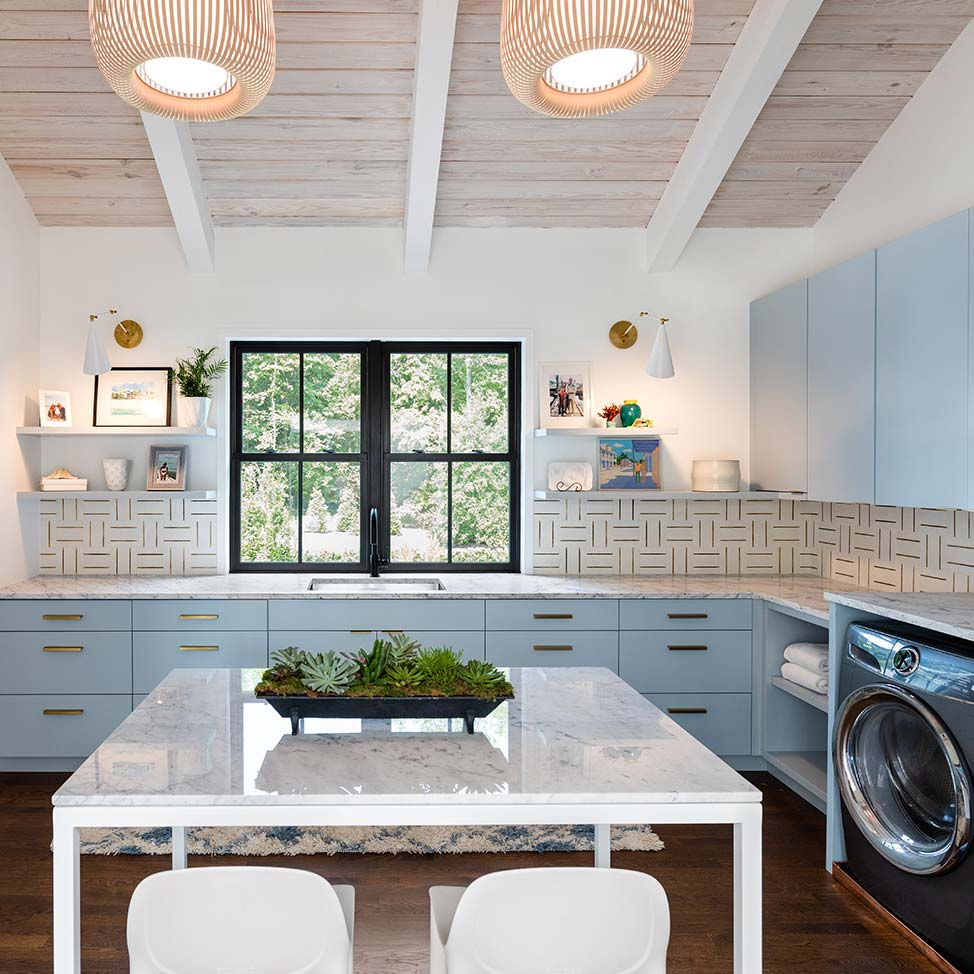 Mark Franko Laundry & Mudrooms